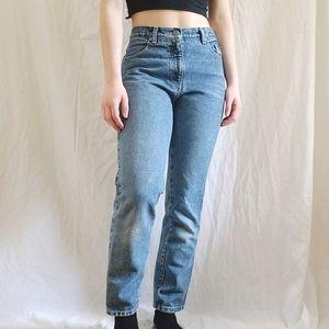 vtg high rise mom jeans